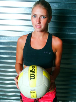 Pro volleyball player