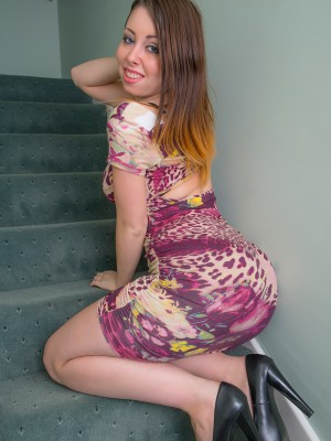 FLOWER DRESS FILLED OUT