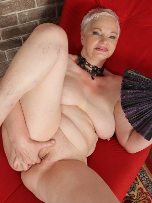 Russian hairy mature olga