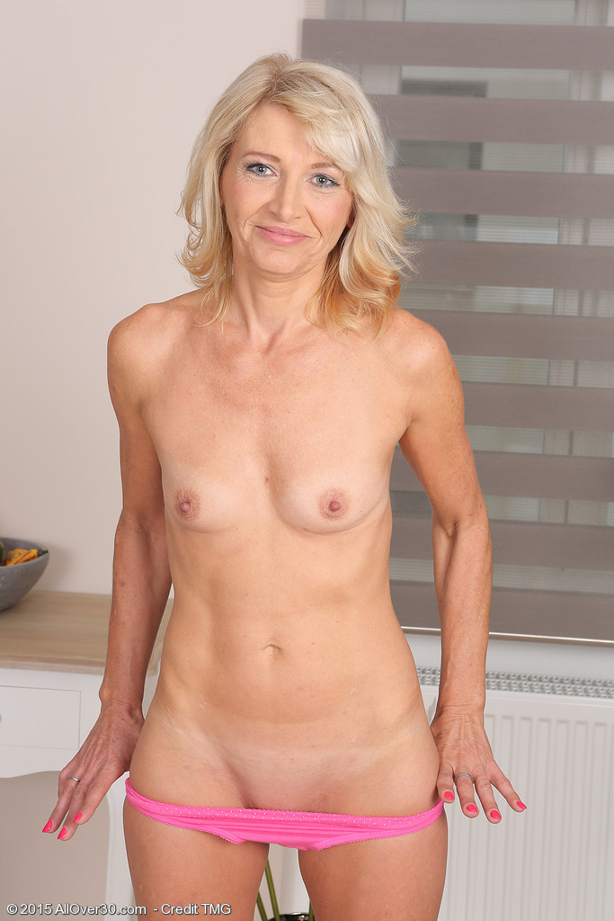 image Hot milf with small boobs
