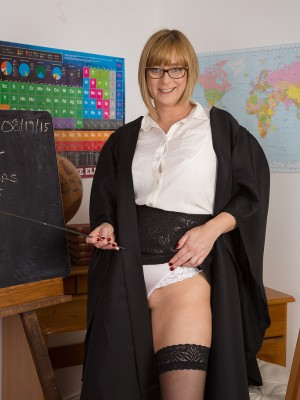 Nasty Professor April teaches you an idea you'll always remember…or else