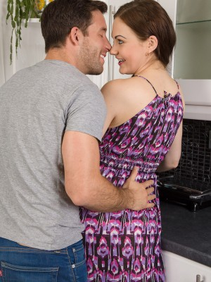 Tina Kay shows the woman flawless butt and has pleasure along with the woman lascivious man