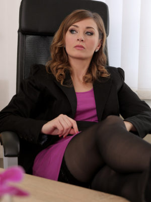 Strict boss Luca Bella shows your ex worker a training