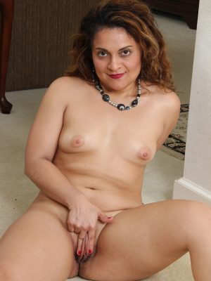 Mature brunette alesia pleasure is playing with her toy 1