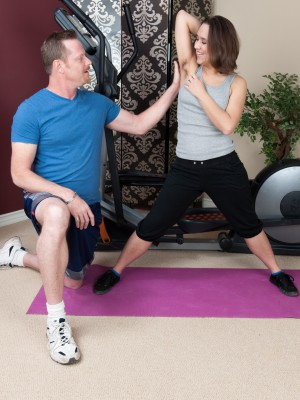 Viola Starr's exercise gets good plus furry