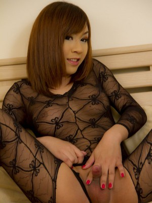 yummy-asian-ladyboy-in-full-body-suit-lingerie-toys-her-ass-4