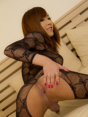 yummy-asian-ladyboy-in-full-body-suit-lingerie-toys-her-ass-7