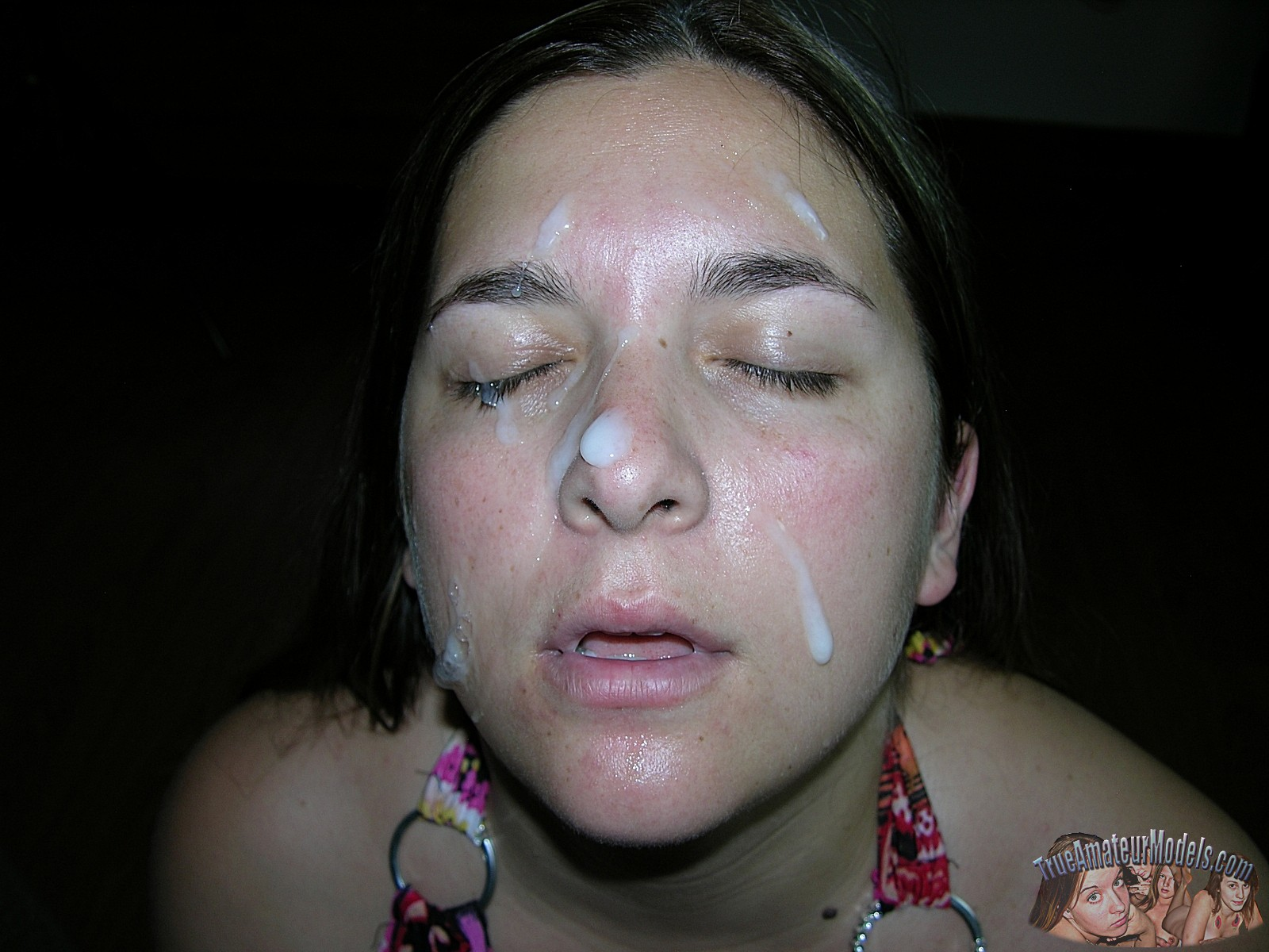 Amateur facial bbw princess