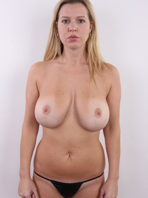 Big tits amateur casting and creampie 7