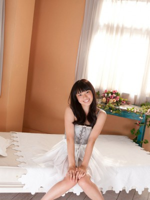Is wonderful doll in fluffy dress yourself in her sleep