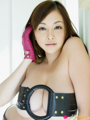 Anri Sugihara Oriental features ample possessions in gear and in hot underware