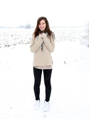 Thick snowball tossing daring teenager plumbed xxx