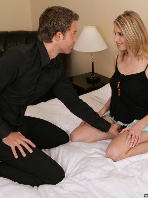 Blond hottie acquires drilled in every position