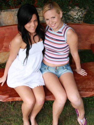 cute-lesbians-fucking-dildos-and-licking-pussy-outdoors-1