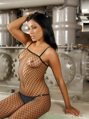 Hungarian babe in her assets stocking