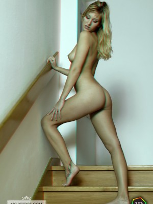 a well shaped butt and lengthy feet. See this youthful babe totally bare in a carnal 3-D ready.